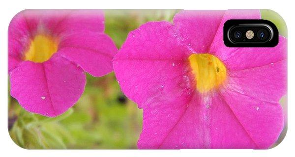 Vibrant Flowers IPhone Case