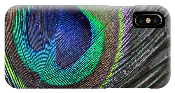 Vibrant Green Feather IPhone Case