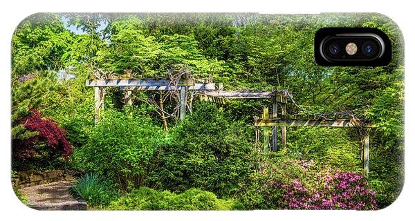 Shrubs iPhone Case - Vibrant Landscape Greenery by Tom Mc Nemar