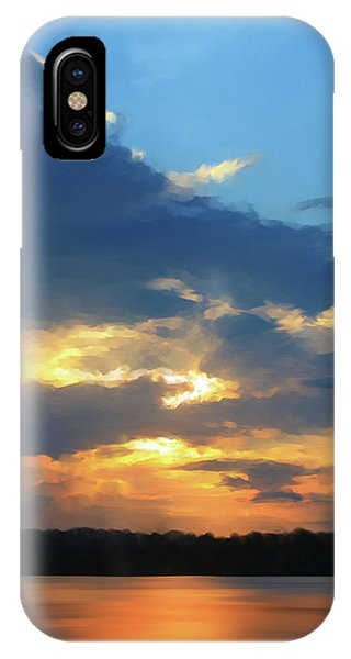 Beam iPhone Case - Vibrant Sunset by Paul Tagliamonte