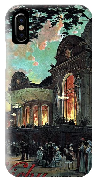 Advertising iPhone Case - Vichy, France - Billets A Prix Reduits - Retro Travel Poster - Vintage Poster by Studio Grafiikka