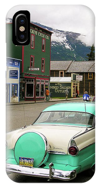IPhone Case featuring the photograph Vicky In Skagway by Jim Mathis