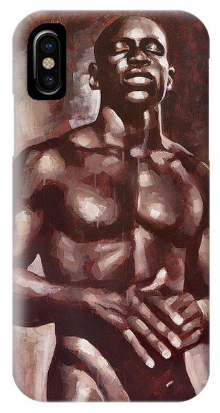 Gay Men iPhone Case - Victor Dreams by Douglas Simonson