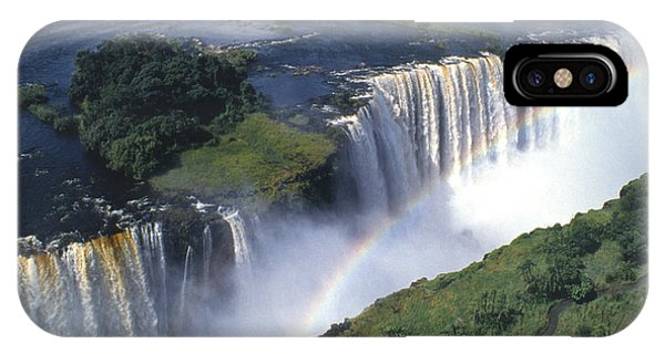 Victoria Falls Rainbow IPhone Case