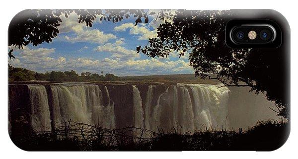 Travelpics iPhone Case - Victoria Falls, Zimbabwe by Travel Pics