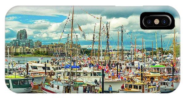 Victoria Harbor 1 IPhone Case