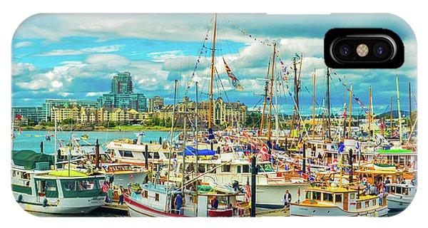 Victoria Harbor 2 IPhone Case