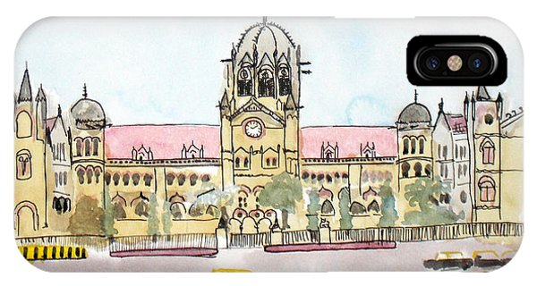 Victoria Terminus IPhone Case