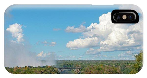 Victorial Falls Bridge IPhone Case