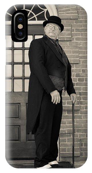 Victorian Dandy IPhone Case