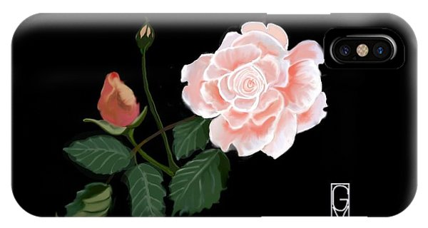 Victorian Rose IPhone Case