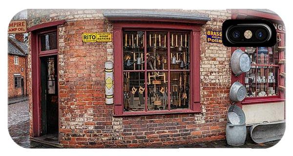 British Empire iPhone Case - Victorian Street Shop by Adrian Evans