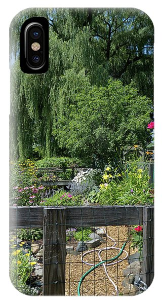 Victory Garden Lot And Willow Tree, Boston, Massachusetts  -30958 IPhone Case