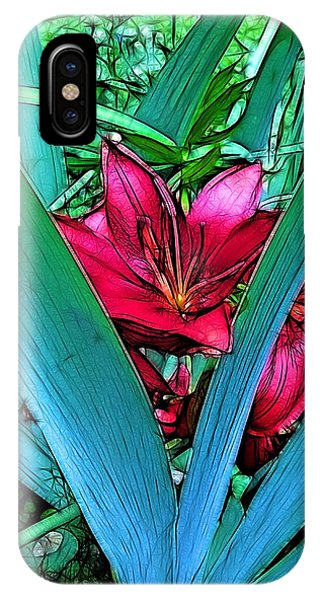 Blossom iPhone Case - Victory Garden by Nick Heap