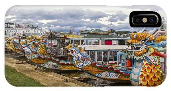 Vietnamese Dragon Boats IPhone Case