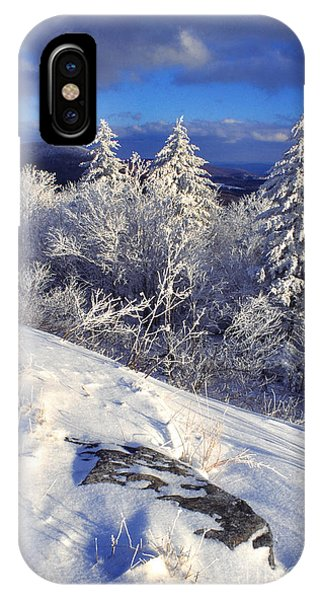 View Along Highland Scenic Highway IPhone Case