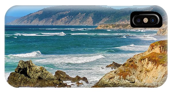 View From Abalone Point IPhone Case