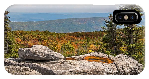 View From Bear Rocks 4173c IPhone Case