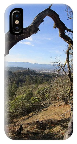 View From Cathedral Hills IPhone Case