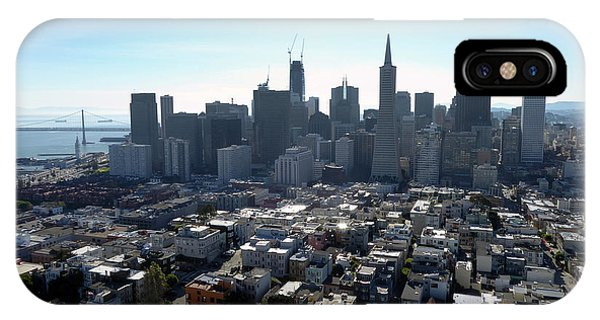 View From Coit Tower IPhone Case