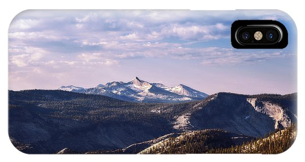 IPhone Case featuring the photograph View From May Lake by Sharon Seaward