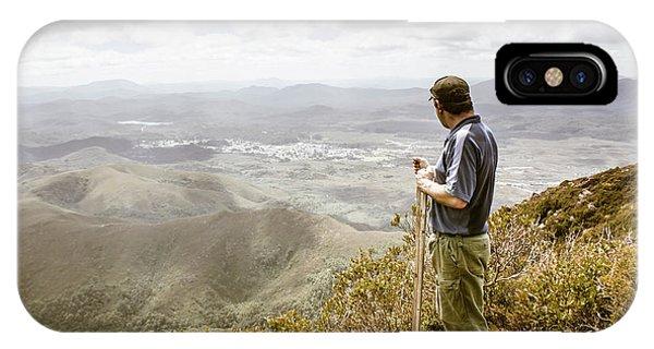 View From Mt Zeehan Tasmania IPhone Case