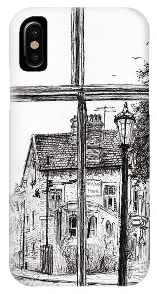 Pub iPhone Case - View From Old Hall Hotel by Vincent Alexander Booth
