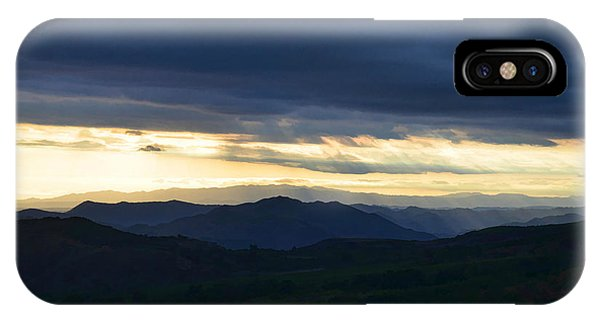 View From Palomar 9633 IPhone Case