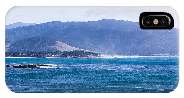 View From Pebble Beach IPhone Case
