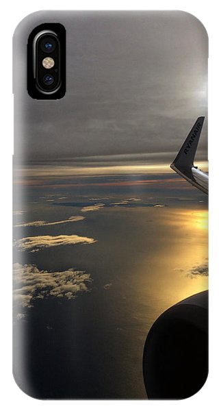 View From Plane  IPhone Case