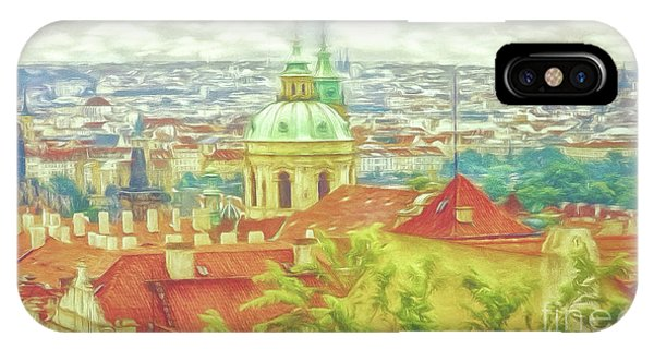 View From The High Ground - Prague  IPhone Case