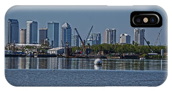 View From The Port Phone Case by Chauncy Holmes
