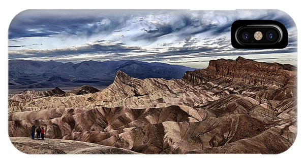 View From Zabriskie Point  IPhone Case