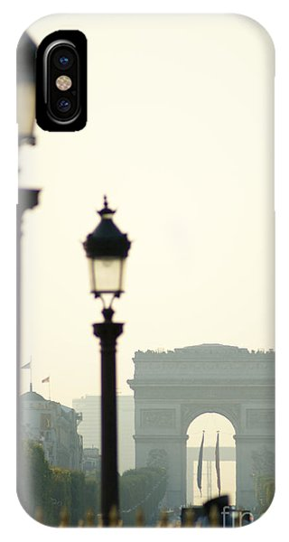 iPhone Case - View Of Arc De Triomphe by Christine Jepsen