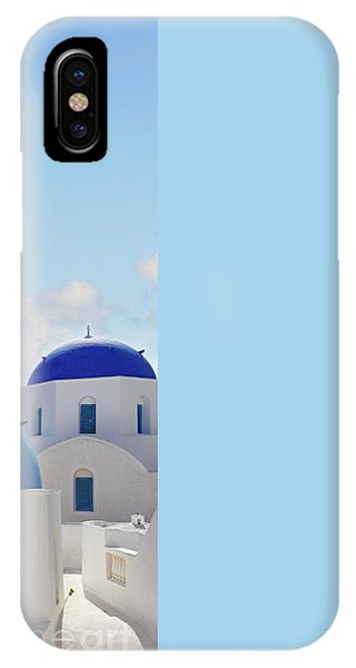 Caldera  Of Santorini IPhone Case