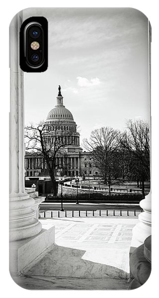 View Of Capitol Hill Through The Supreme Court IPhone Case