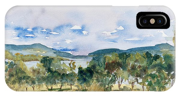 View Of D'entrecasteaux Channel From Birchs Bay, Tasmania IPhone Case