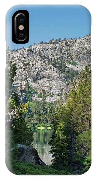 View Of Eagle Lake IPhone Case