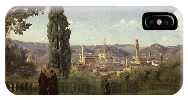 View Of Florence From The Boboli Gardens IPhone Case