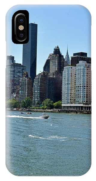 View Of Manhattan From Roosevelt Island IPhone Case