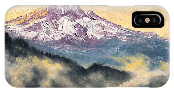 iPhone Case - View Of Mt Hood by Jim Gola