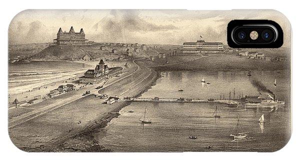 1877 iPhone Case - View Of Nantasket Beach by Mallory Richard