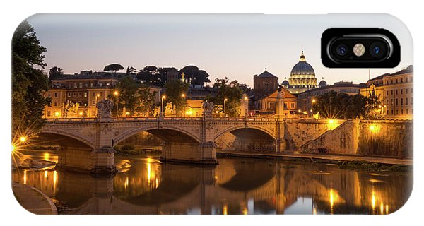 View Of Rome IPhone Case
