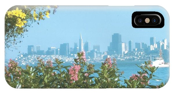 View Of San Francisco From Bridgeway, Sausalito, Ca. 94965 IPhone Case