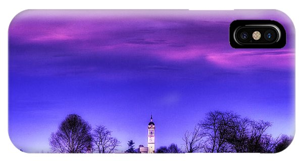 View Of San Giorgio Lomellina IPhone Case