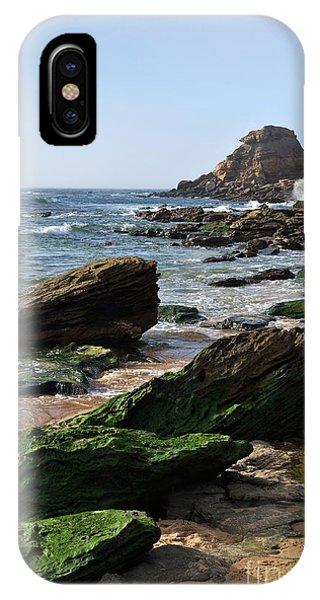 View Of Santa Rita Beach In Torres Vedras IPhone Case