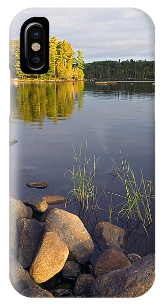 View Of Small Island From Rocky Shore IPhone Case
