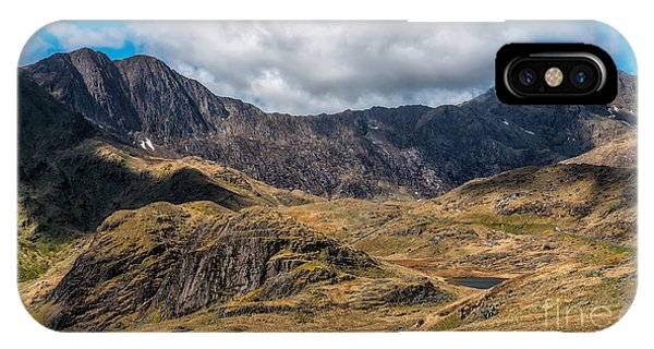 View Of Snowdon IPhone Case