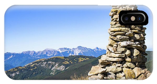 View Of The Apuan Alps IPhone Case