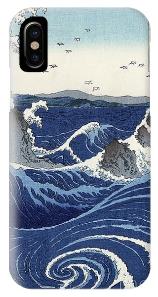 View Of The Naruto Whirlpools At Awa IPhone Case